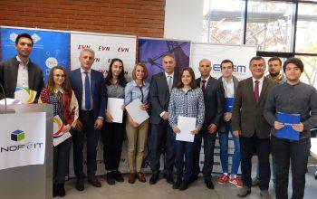 Доделени 8 нови стипендии од енергетските компании за студентите на ФЕИТ