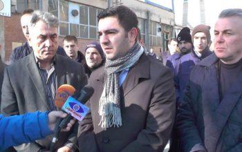 Министерот Бектеши во посета на РЕК Осломеј во Кичево