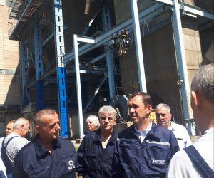 Работна посета на генералниот директор на АД ЕСМ, Васко Ковачевски на РЕК Осломеј