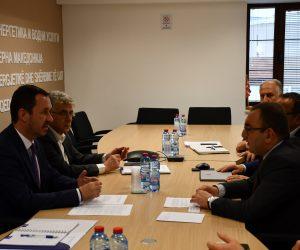 Менаџментот на АД ЕСМ одржа работен состанок со претставници на Регулаторната комисија за енергетика и водни услуги